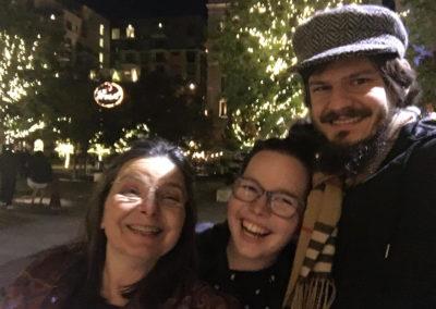 Misty, Jason and her mom