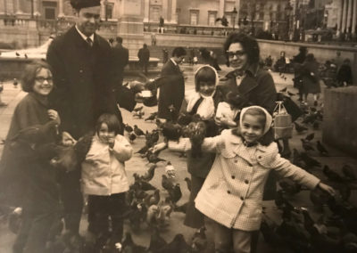 Kara Paige and Family in Paris