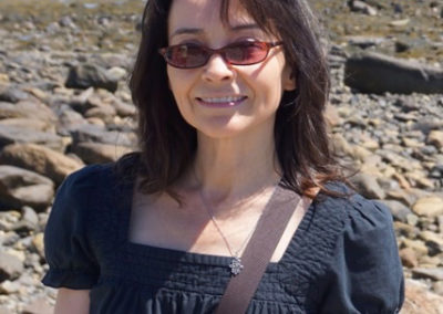 Kara at the beach
