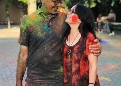 Kara and Gerard Powder G Day
