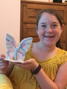 Shayna and Butterfly