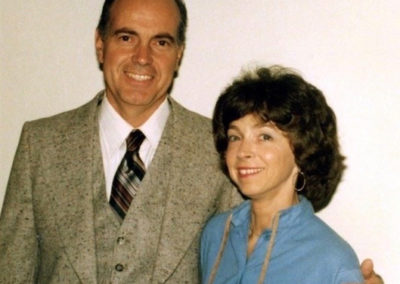 Kara's parents, Dr. and Mrs. Paige