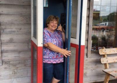 Leanne - phone booth