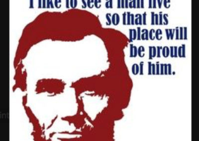 Abe Lincoln Patriotism Quote